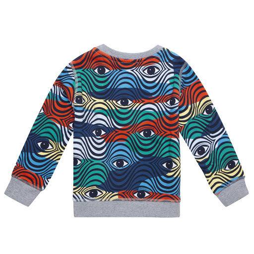 Thumbnail images of Kenzo Kids Eye Logo Sweatshirt