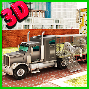 Transport Truck Zoo Animals 3D for PC and MAC
