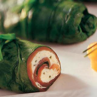 Spinach & Salmon Rolls Recipe