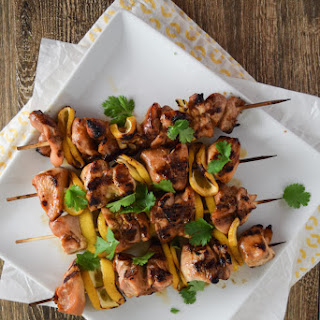 Pineapple Grilled Chicken Skewers