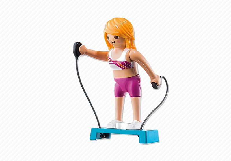 Contenido real de Playmobil® 6827 Profesora de Fitness