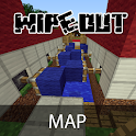 Wipeout Map for Minecraft PE icon