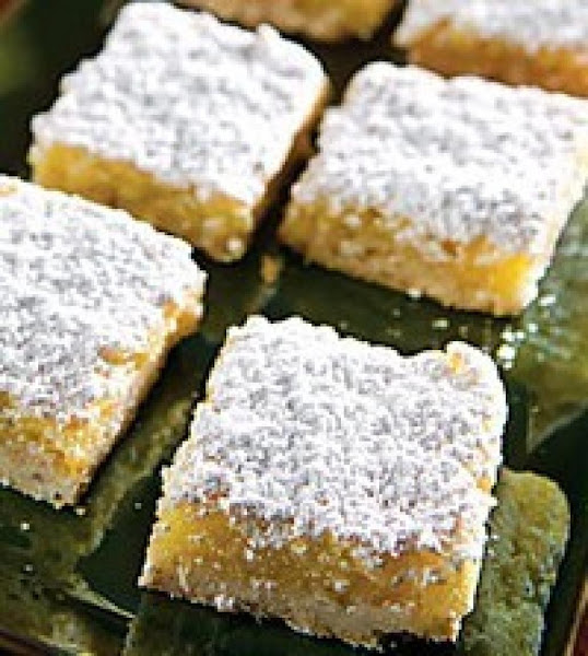 Melt - In - Your - Mouth Orange Squares Recipe
