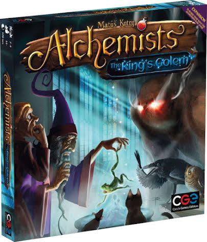 Alchemists: The Kings Golem Expansion