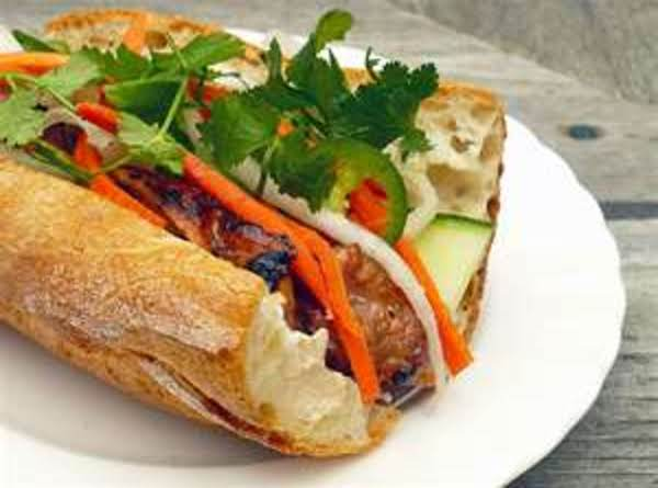 Pork Banh Mi Sandwich Recipe