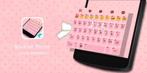 Love Bowknot-Emoji Keyboard