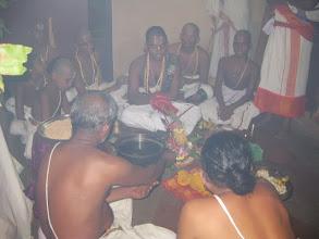 Photo: rakshabandhana punyaahavachanam