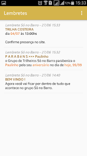 Só no Barro App - Lembretes- screenshot thumbnail