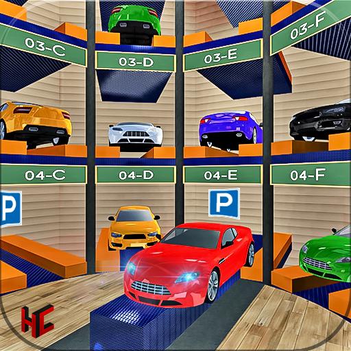 Amazing Multi- level Car Parking Master Driving