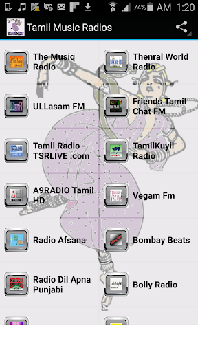 Tamil Music Radios