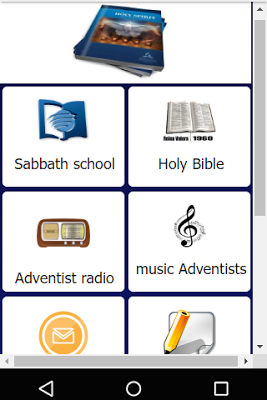Sabbath school - screenshot