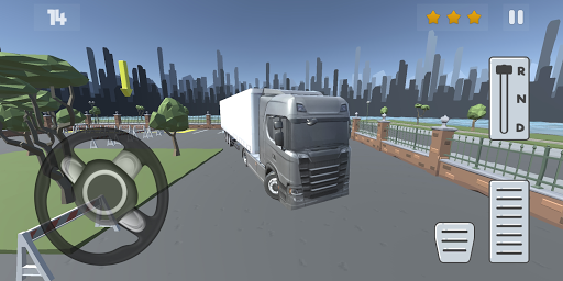 Télécharger gratuit Truck Parking Simulator 2020: City APK MOD 1