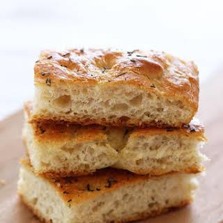 Focaccia Bread.