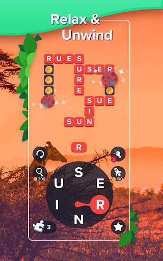 Puzzlescapes: Relaxing Word Puzzle Brain Game screenshot 2