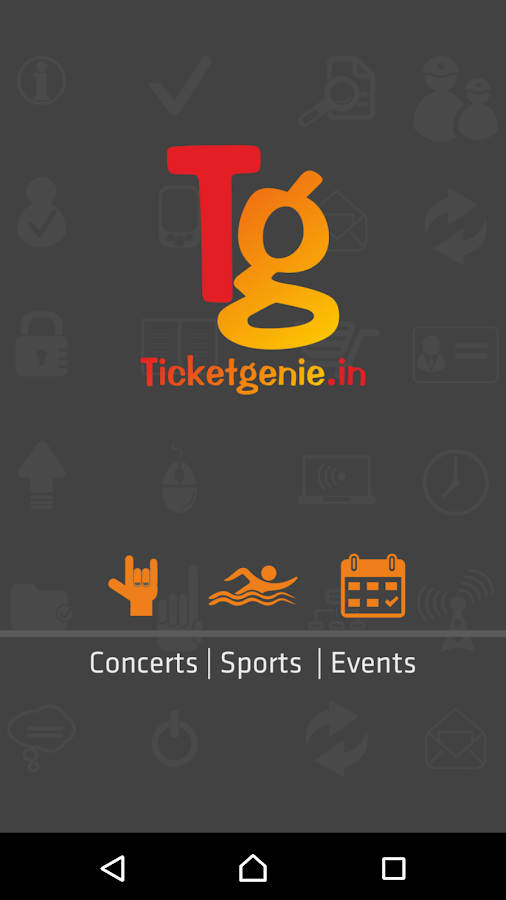 Ticketgenie- screenshot