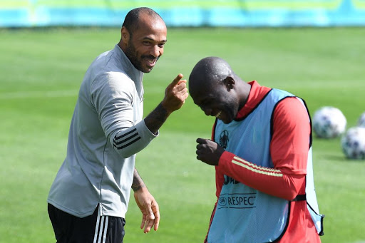Thierry Henry leaves Romelu Lukaku and Kevin De Bruyne in awe as Arsenal legend scores incredible free-kick in Belgium training session
