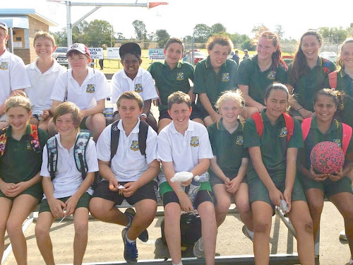 High school boys' netball team impresses, girls head to Tamworth
