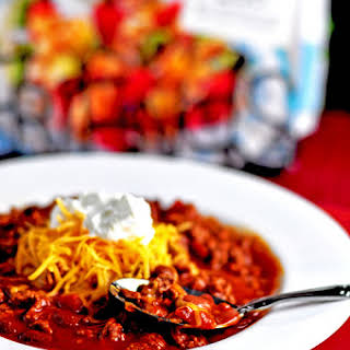Slow Cooker Beefy Taco Soup.