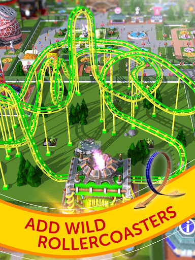 RollerCoaster Tycoon Touch - Build your Theme Park (Mod Mone