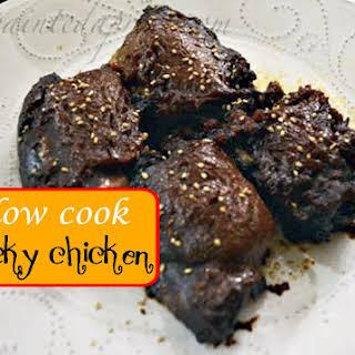 Slow Cook Sticky Chicken.