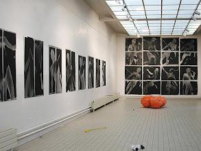 """Photo: © Olivier Perrot photogrammes série """"Combats"""" © Olivier Perrot photogrammes série """"Combat"""" Expo Centre d'Art Contemporain de Clamart 2002  www.groupenovembre.com"""