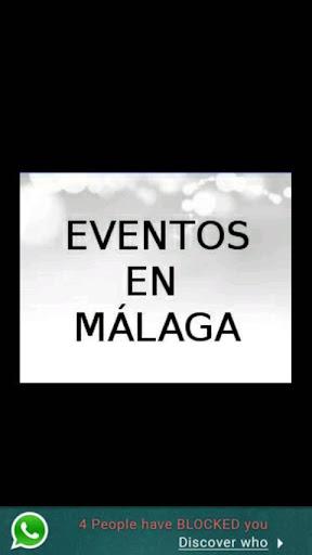 Eventos en Málaga