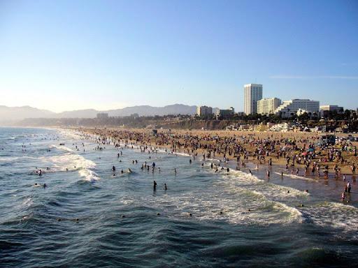Santa Monica Wallpaper Images