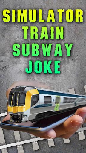 Simulator Train Subway Joke