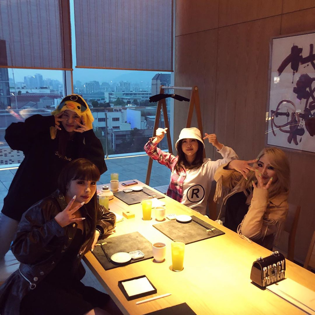 2NE1 10th year reunion