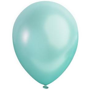 Ballong lösvikt satin, Karibisk blå
