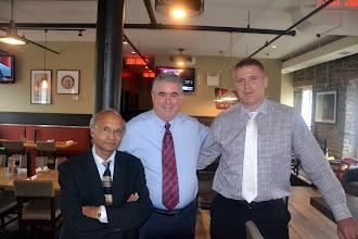 Photo: Kashyap Desai, Don Weekes, & Chris Fudge