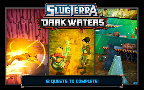 Slugterra: Dark Waters - screenshot