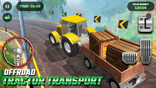 OffRoad Tractor Transport 1.0 screenshots 1