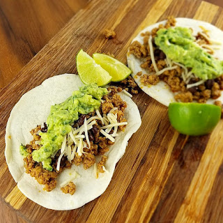Ground Pork Tacos.