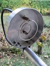 Photo: Dual-Band Ring Feed  (based on OM6AA)