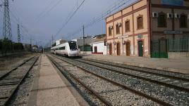 Imagen de archivo de la estación de Huércal de Almería.