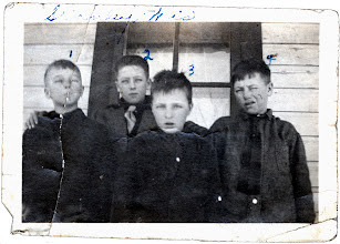Photo: Tom Brandvold Album TBA188 / Skiever, Tommy, Melvin, and Paul Bradvold - Stanley, Wisconsin