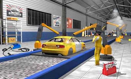 Car Maker Factory Mechanic Sport Car Builder Games 1.12 screenshots 6