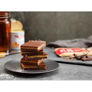 Salted Caramel Chocolate Slice Recipe