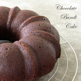 Chocolate Bundt Cake.