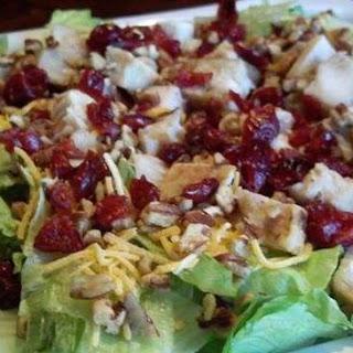 Chicken, Cranberry and Pecan Salad