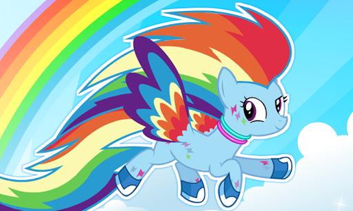 My Rainbow Dash Dress Up