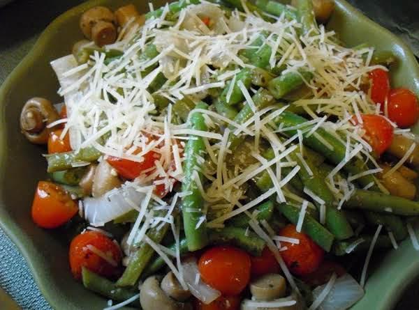 Crunchy Green Bean Salad Recipe