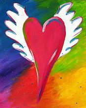 Photo: Flying heart #2