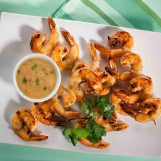 Caribbean Shrimp Kebabs.