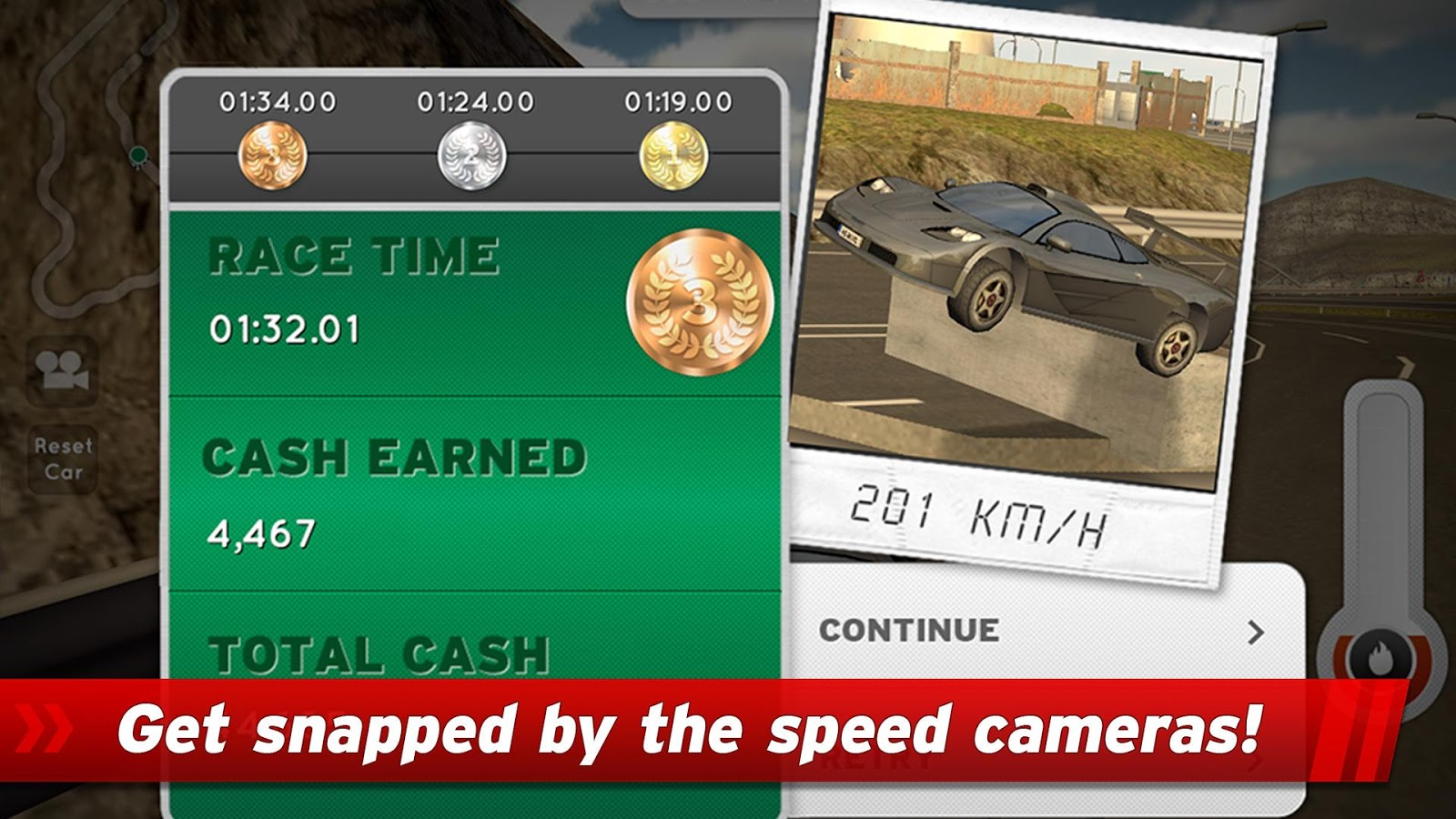Highway Rally: Fast Car Racing- screenshot