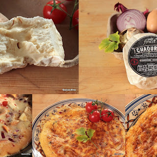 Mushroom Omelette with French Cheese.