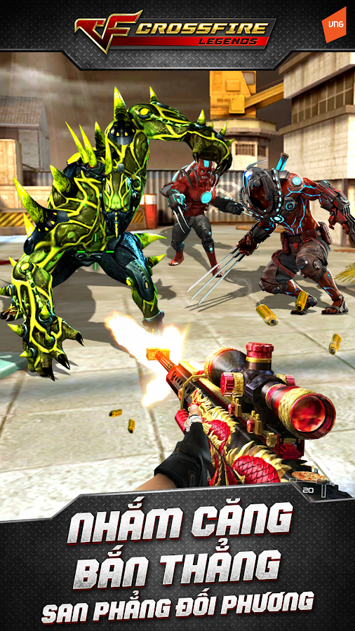 Crossfire: Legends- screenshot