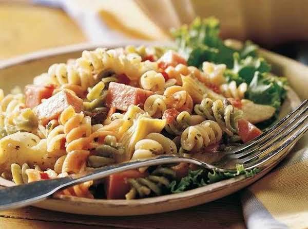 Dijon Ham And Pasta Salad Recipe