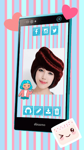 髪型シミュレーション アプリ